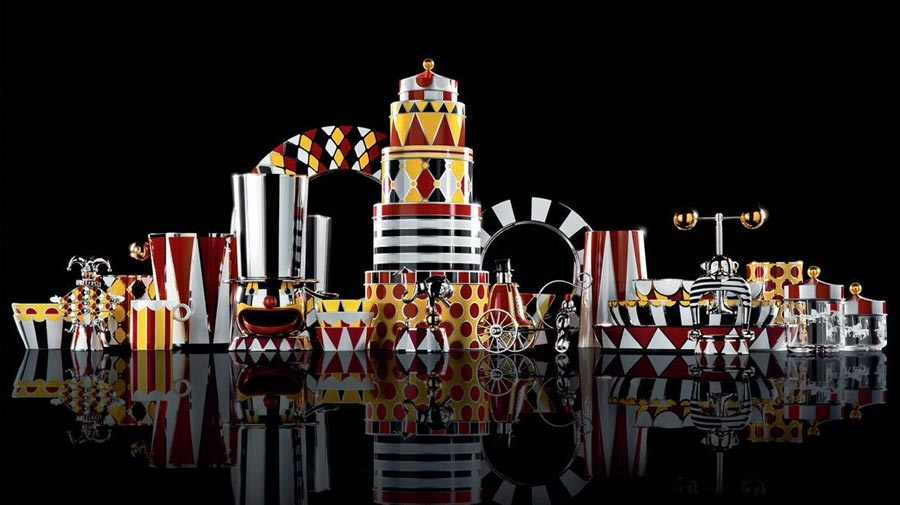 Circus by Alessi, inspired by life in the circus
