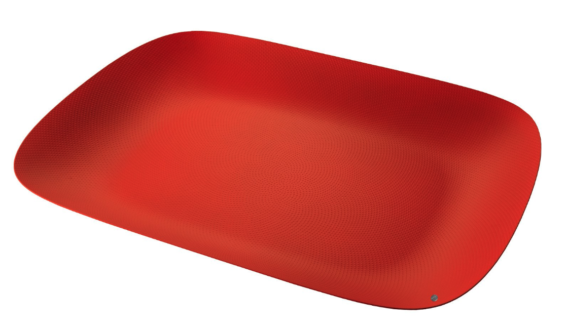 Moiré tray, design Marcel Wanders for Alessi, Texture & Colours collection.