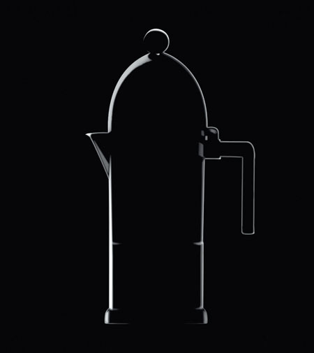 30 candles for La Cupola by Alessi, a designer moka for all