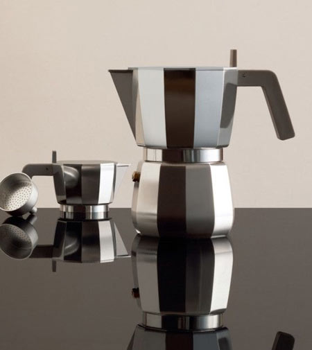 Moka by Alessi, a lease of life for the moka