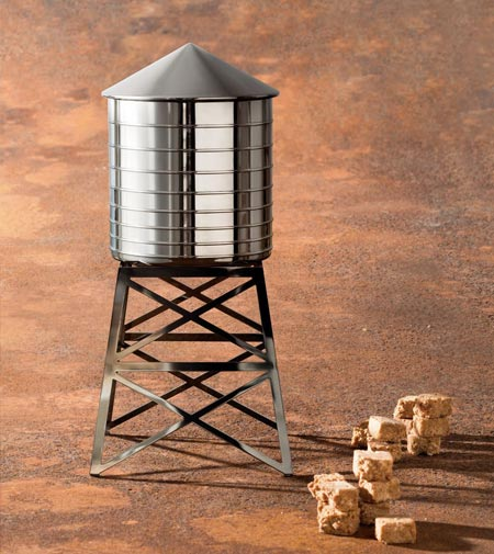 Water Tower by Alessi, a mini-architecture for your kitchen