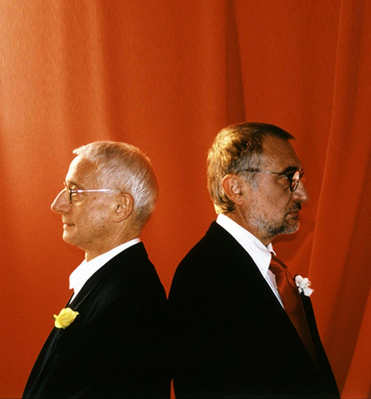 Alessandro and Francesco Mendini, designer of Atelier Mendini