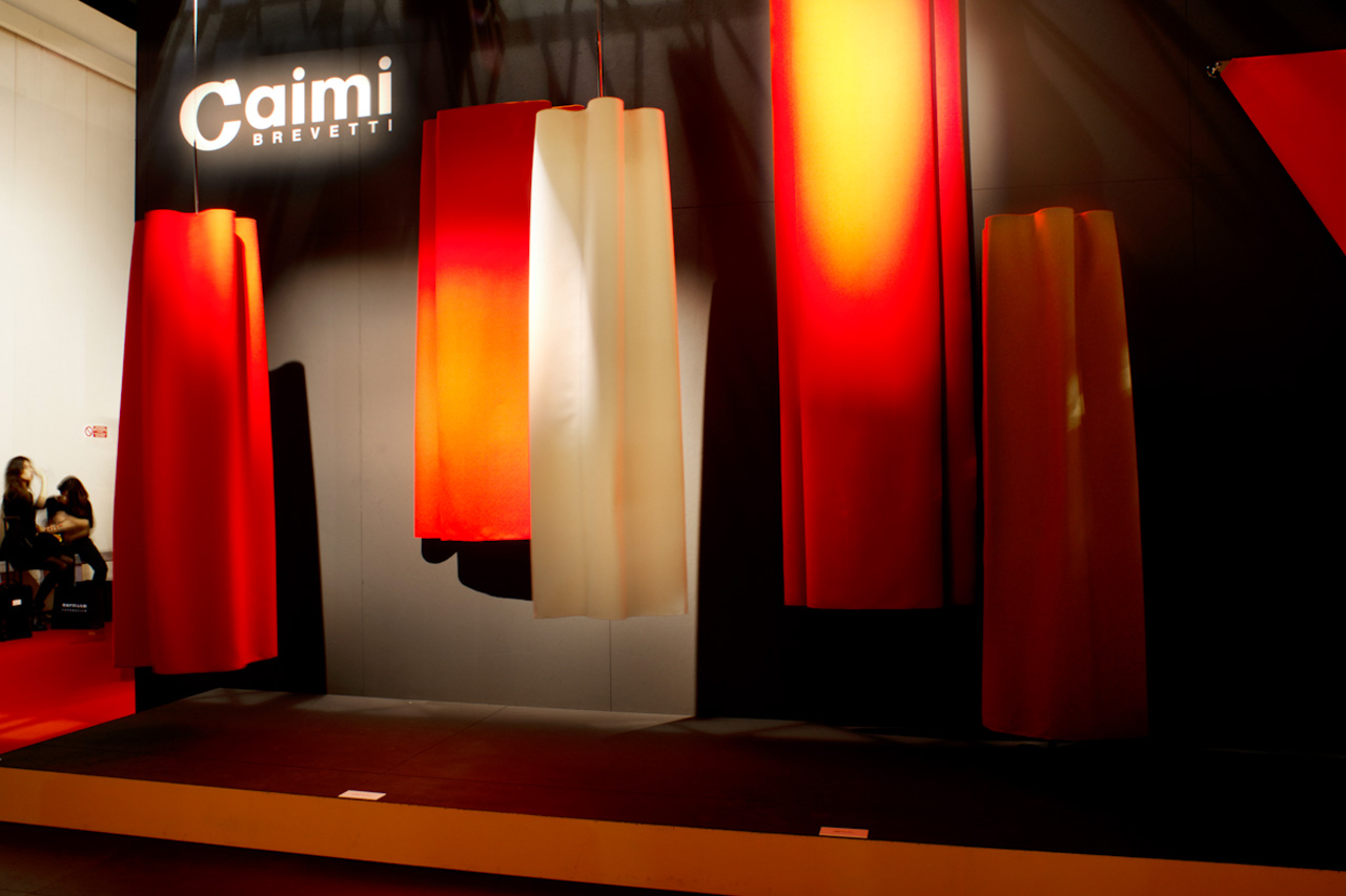 Caimi Brevetti stand, at Salone del Mobile 2015