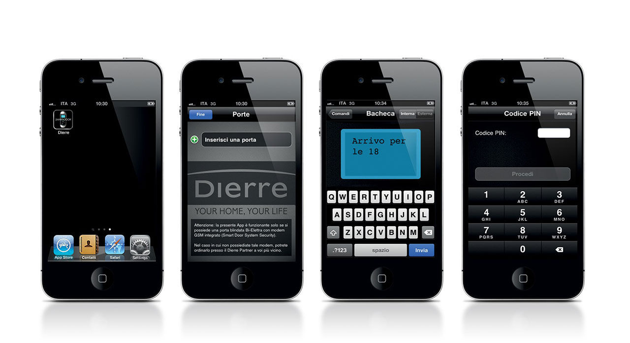 Dierre, app Smart Door System