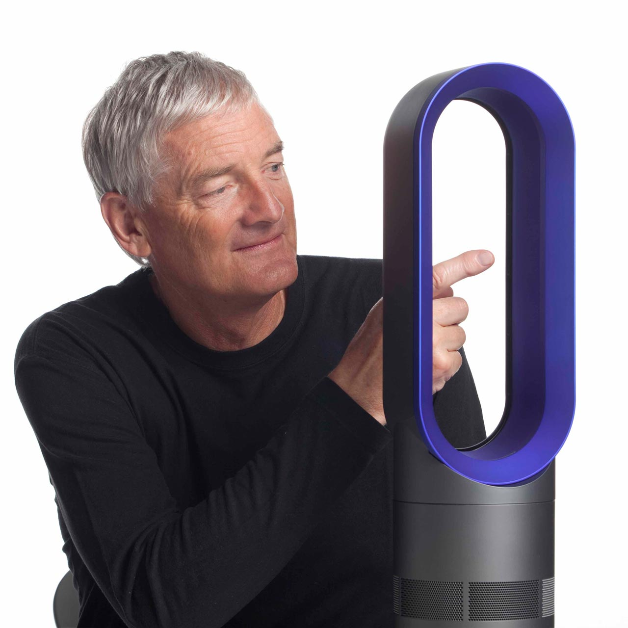 Sir James Dyson. Inventor, industrial designer and founder of the Dyson company