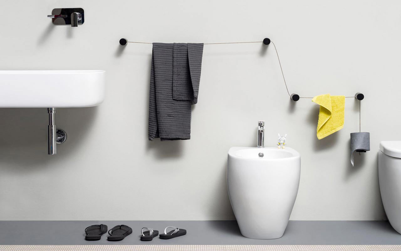 Accessori bagno dot di ever life design for Accessori design
