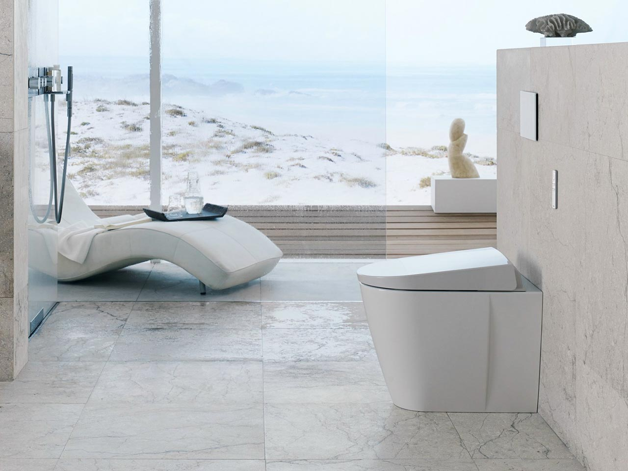 Aquaclean Sela by Geberit, designed by Matteo Thun & Partners