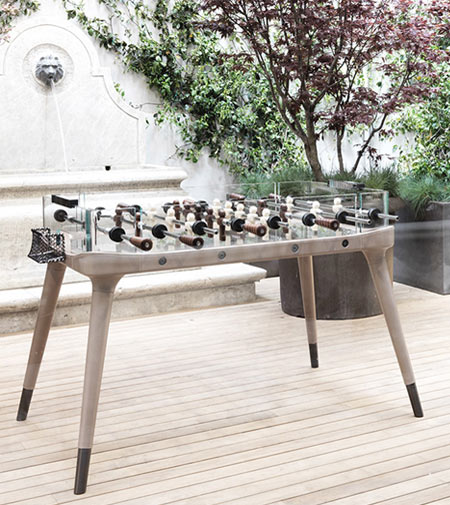 Atmosphere by Giorgetti, a foosball table for real champions
