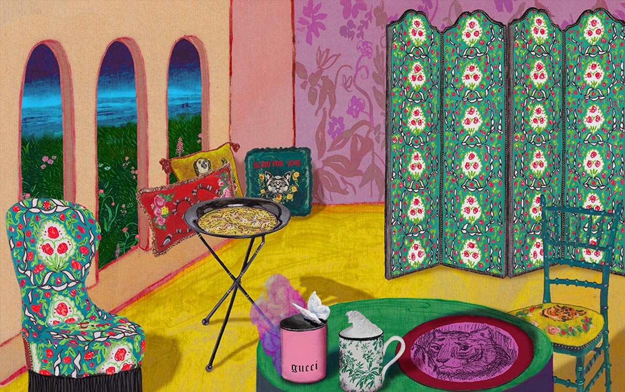 Gucci home decor series for House of decorative accessories
