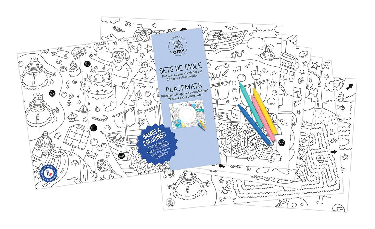 Omy Design & Play Colouring Collection