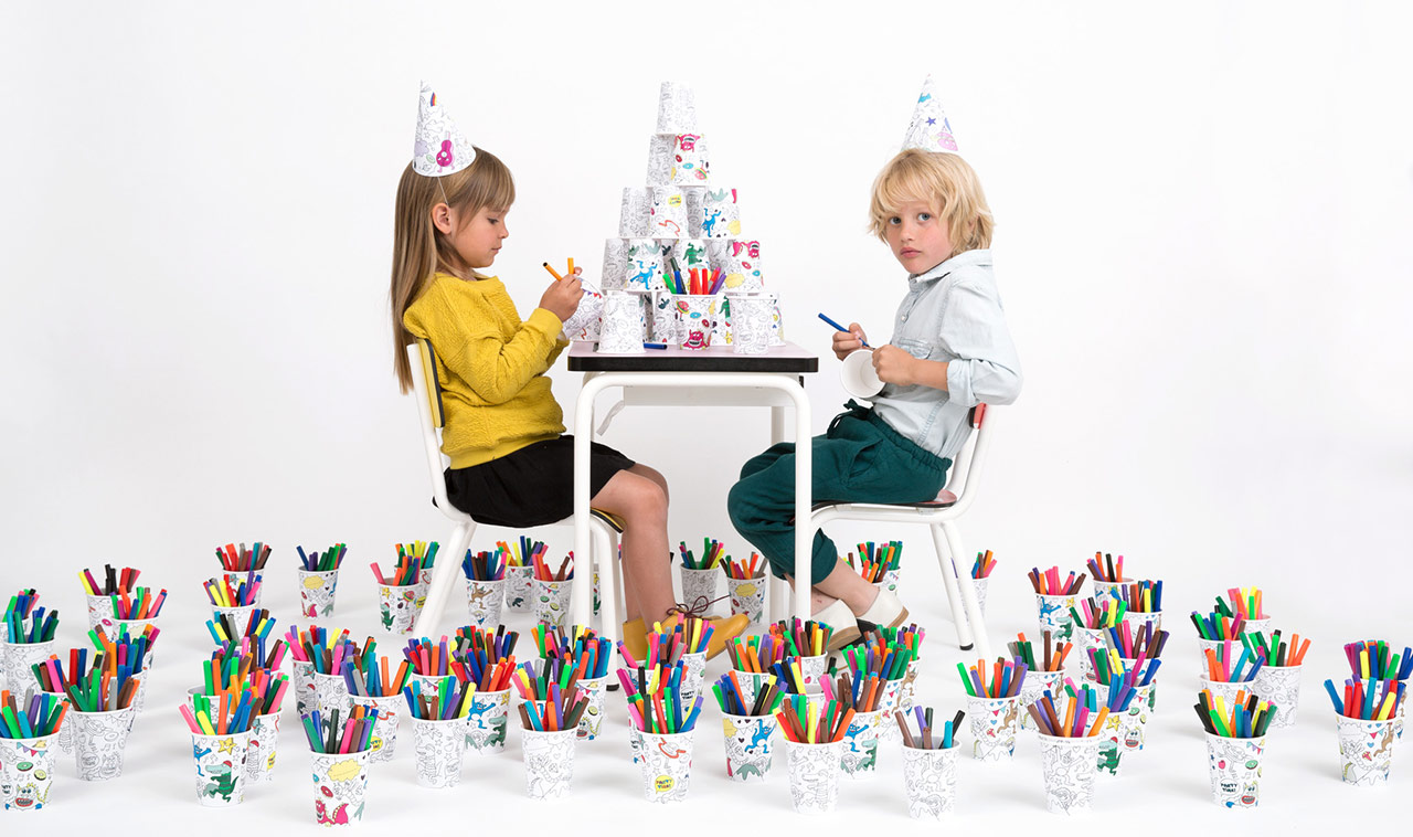 Moroni Gomma - OMY Design & Play, Colouring Collection