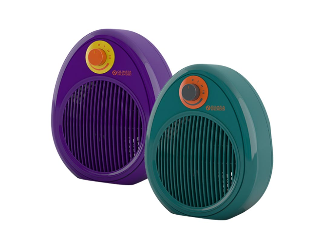 Olimpia Splendid, termoventilatore Bubble
