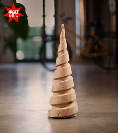 XMAS_DR by Riva 1920, the Christmas tree in scented cedar wood