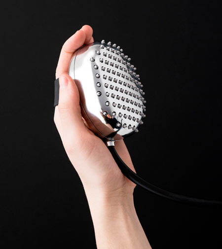 Watercandy by Zucchetti, the showerhead massager