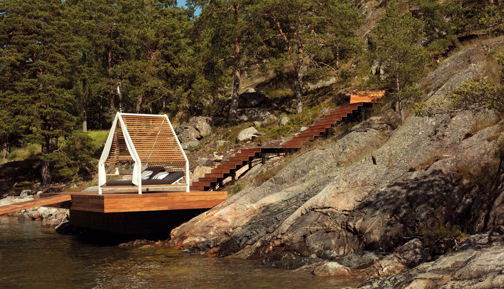 cottage gazebo by kettal