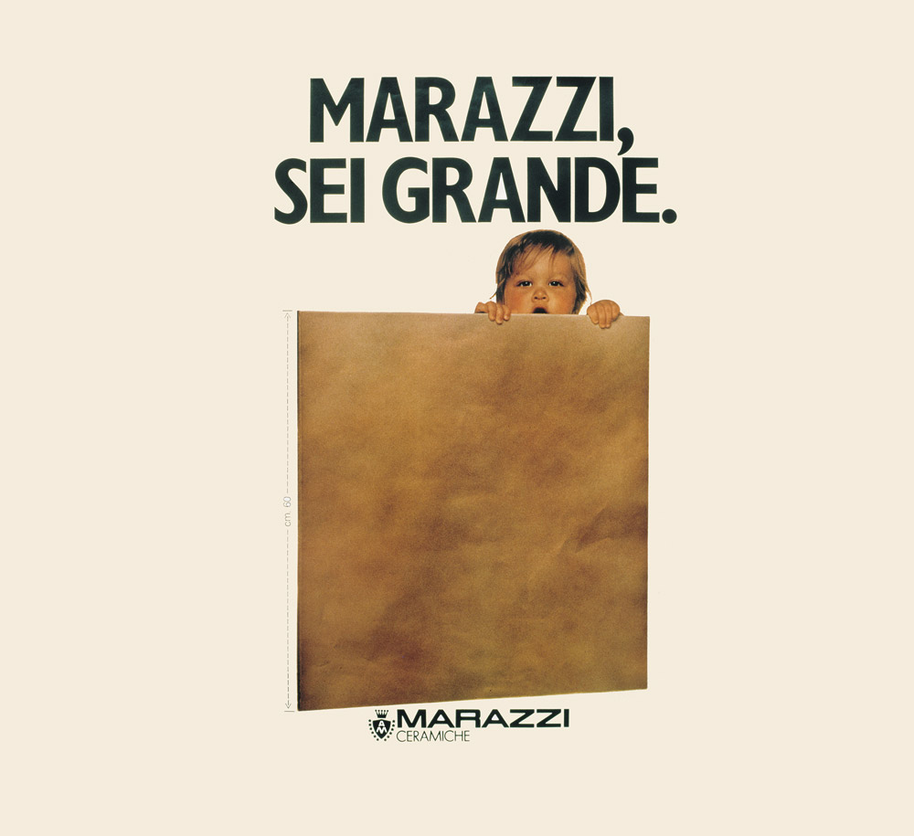 1935 -2015 Marazzi turns 80 years old.