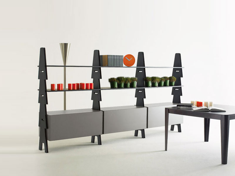 cavalletto bookcase by agapecasa