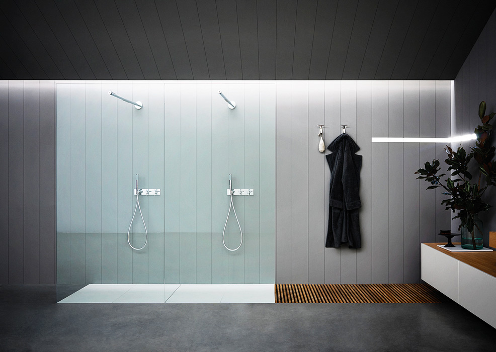 flat d shower agape