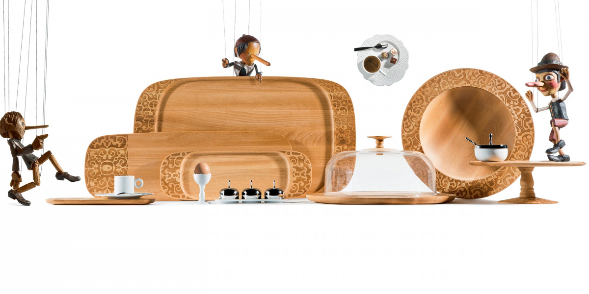 Collezione Dressed in Wood, Marcel Wanders, 2015