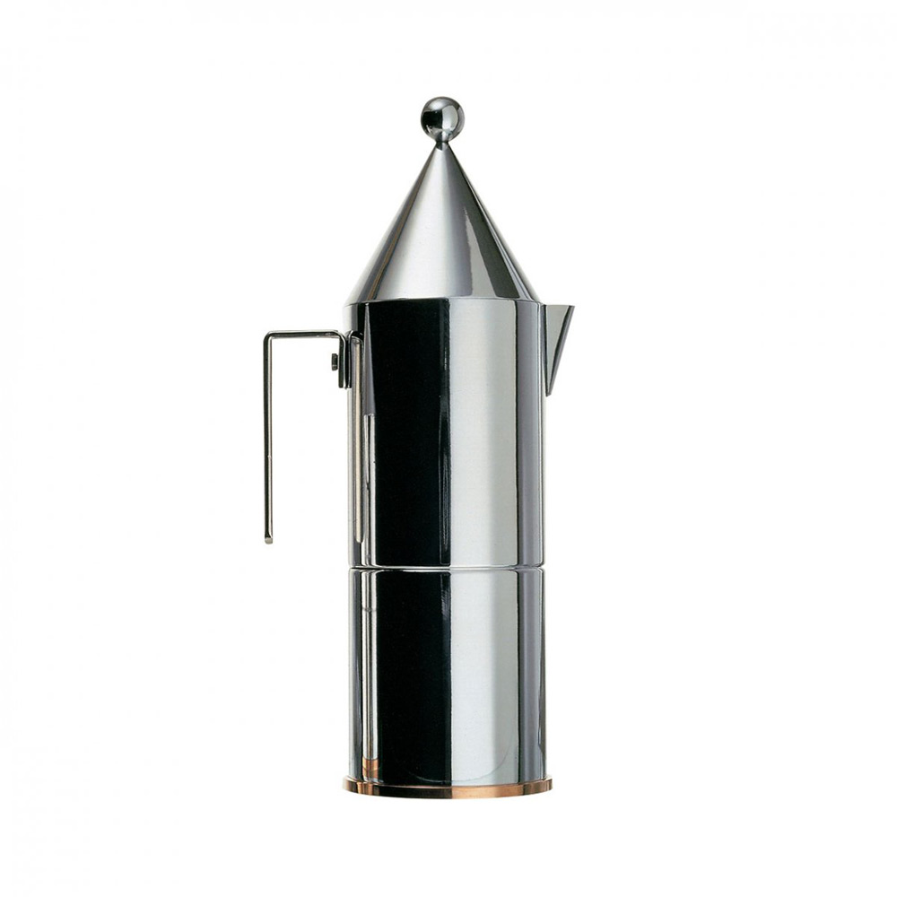 La Conica is the iconic cafetiere by internationally acclaimed architect, Aldo Rossi. La Conica is a little architectural gem. Customers will immediately recognize Aldo Rossi's rational style,...