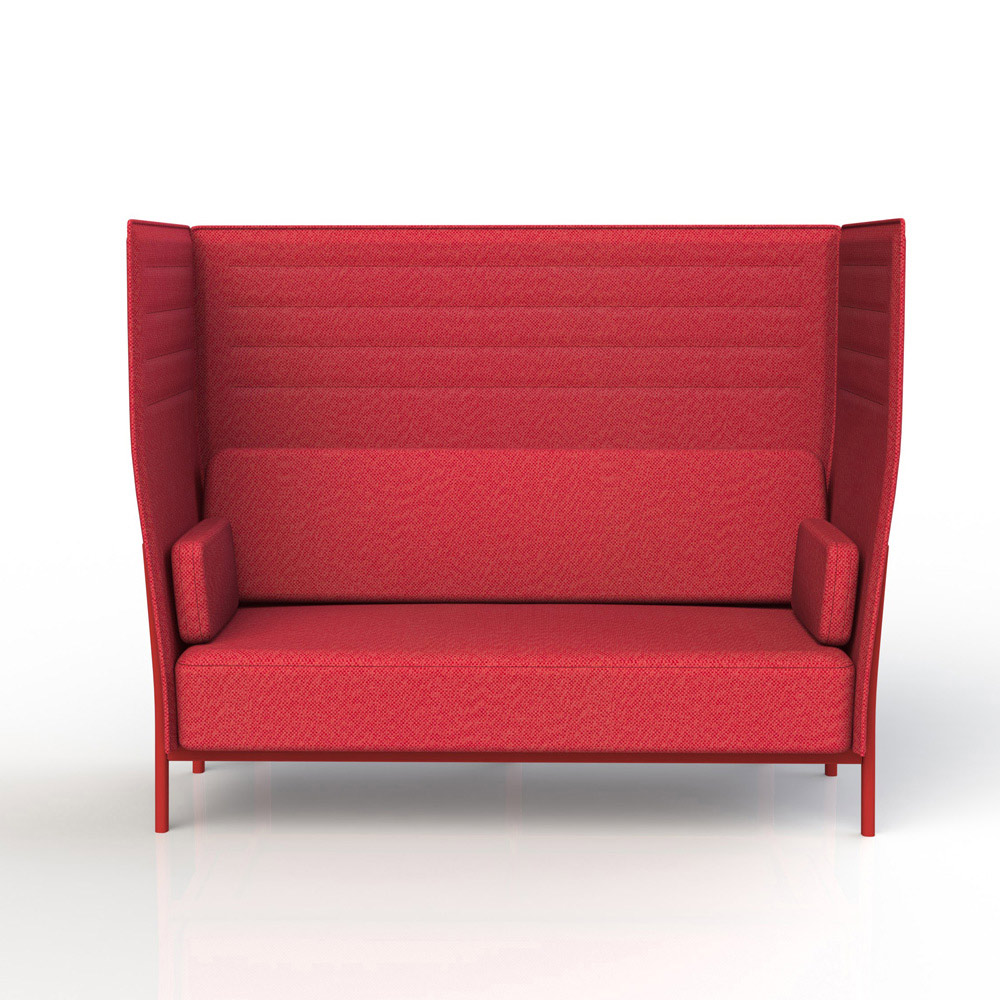 High Back is a versatile sofa which can bring elegance to private or public spaces. The high backrest enhances the feeling of privacy, while the minimal and pure lines are in line with the brand...