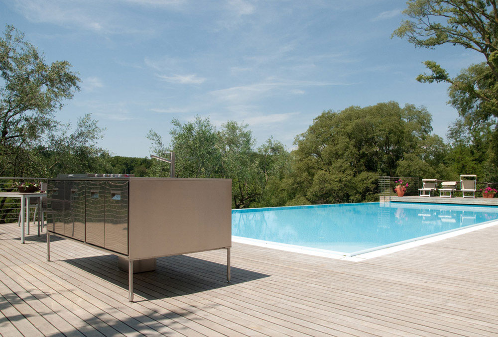 artusi outdoor kitchen by arclinea