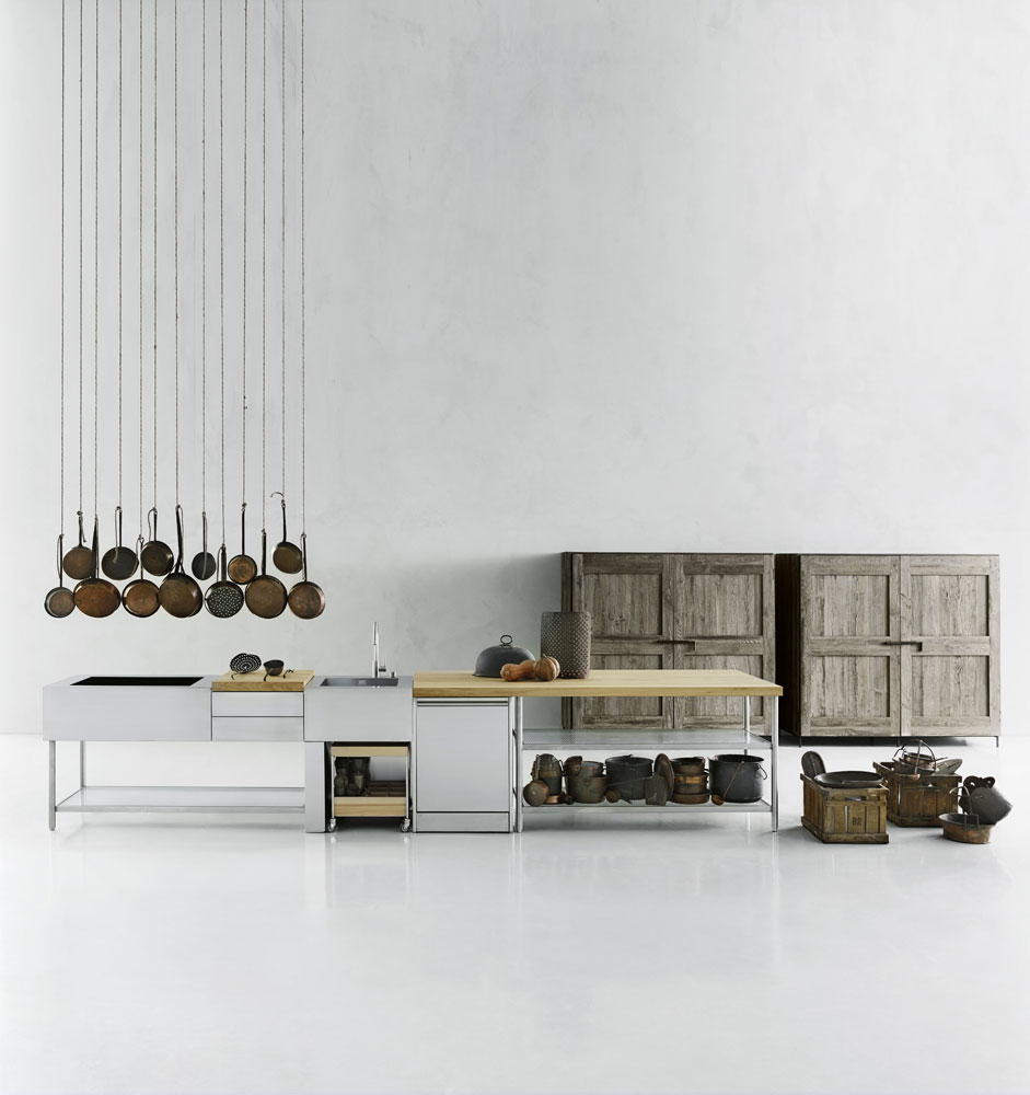 open kitchen boffi