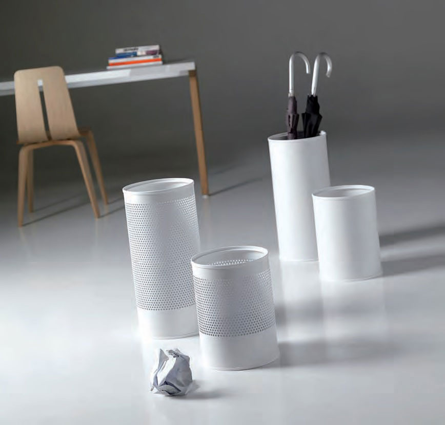 hi-tech wastepaper basket by caimi brevetti