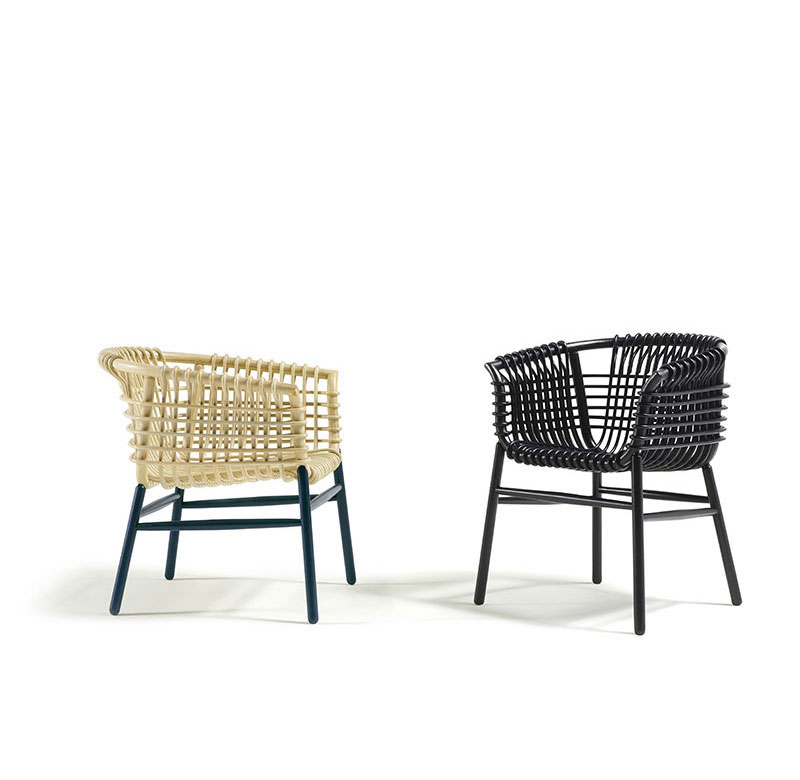 lukis armchair by cappellini