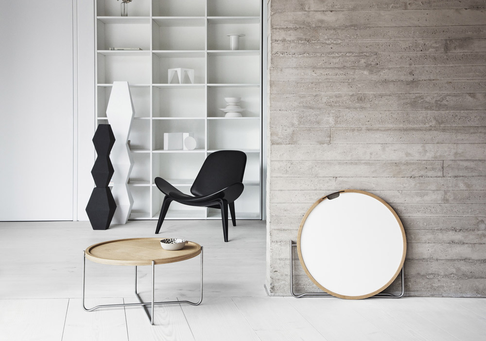 ch417 small table by carl hansen