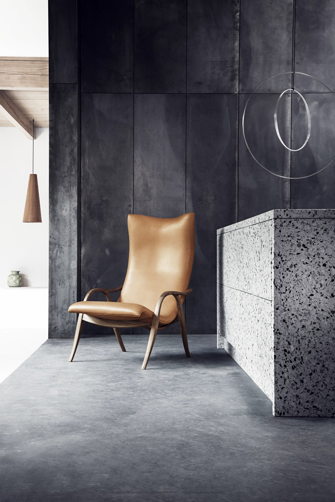 signature armchair by carl hansen
