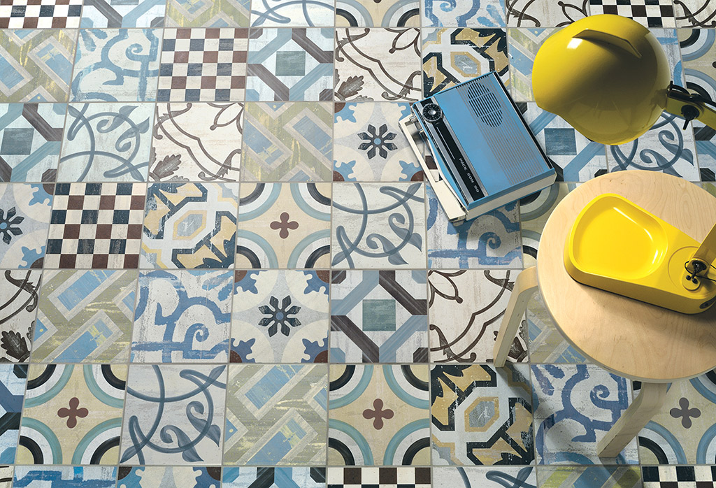 Cementine 20 is a line of porcelain stoneware tiles with a vintage flavor. This collection is inspired by traditional cement tiles, popular at the beginning of the twentieth century. By using...