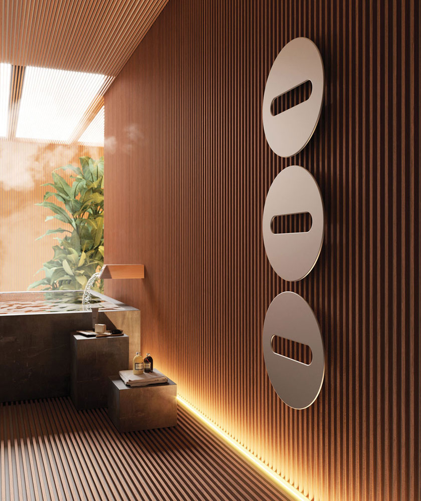 sfere radiator by cordivari