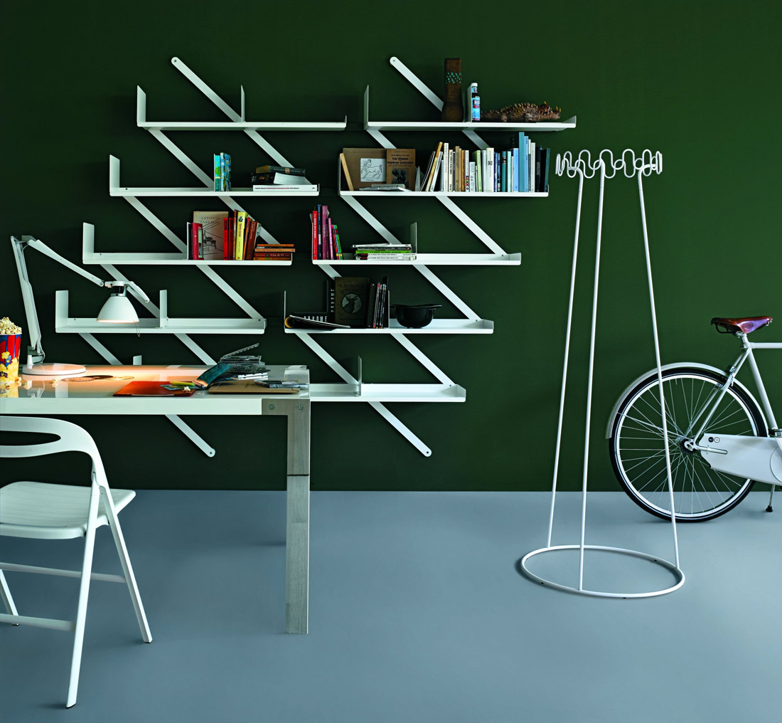 minibooxx bookcase by desalto