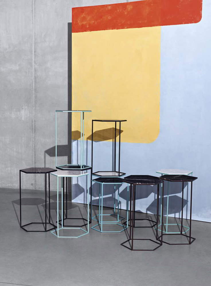 hexxed small table by diesel living with moroso
