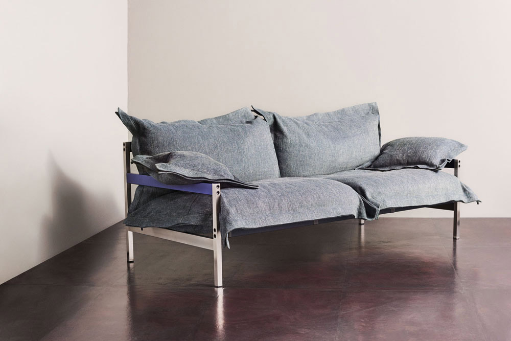 iron maiden sofa by diesel living with moroso