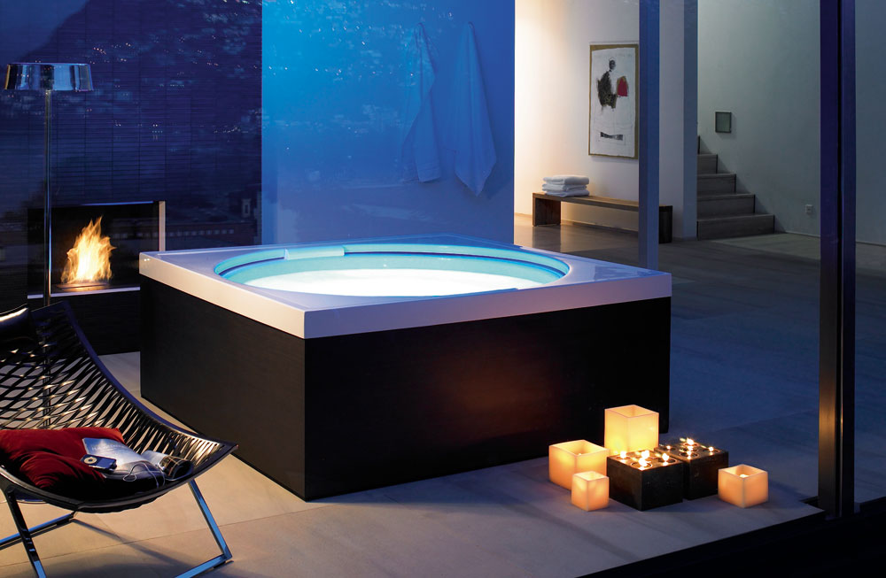 blue moon hot tub by duravit