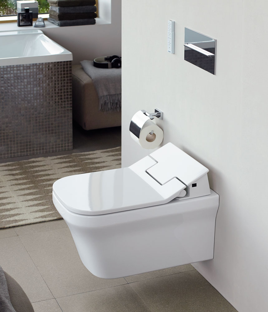 wc-bidet sensowash slim by duravit