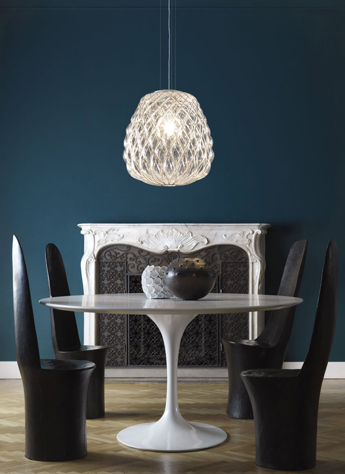pinecone lamp by fontanaarte