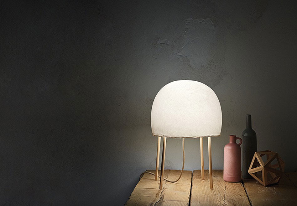 kurage lamp by foscarini