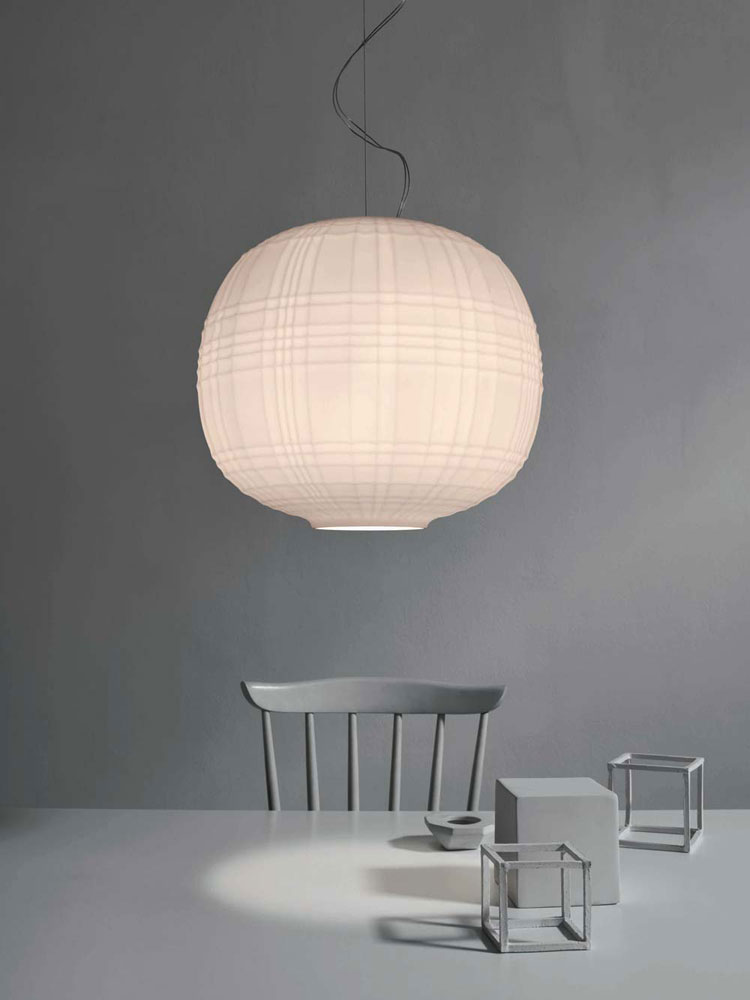 tartan lamp by foscarini