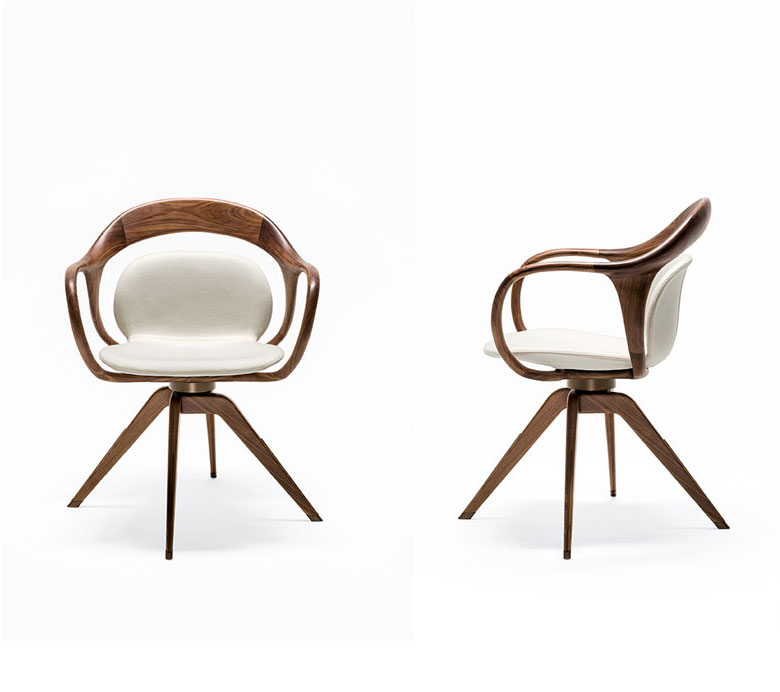 norah small armchair by giorgetti