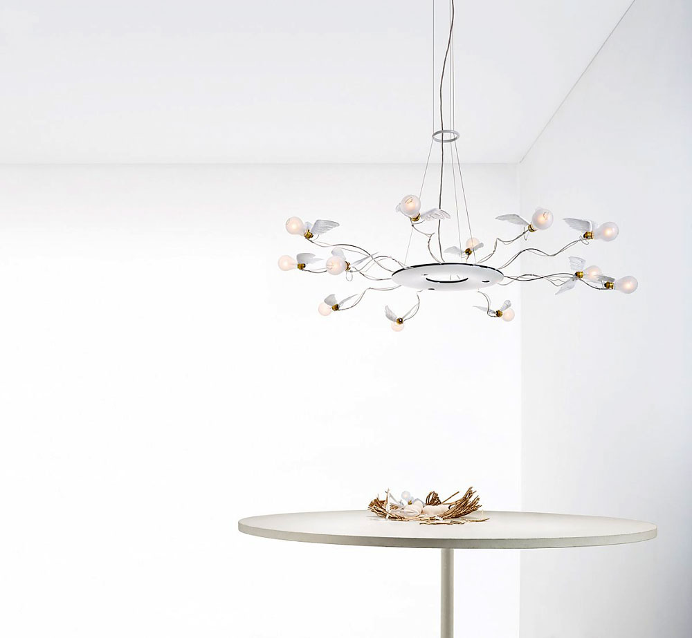 birdie's ring lamp by ingo maurer