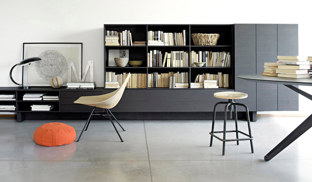 T 030 is a modular storage series with an extremely contemporary design. T 030 can be assembled in a variety of different ways to suit various tastes and space requirement; it can also house...