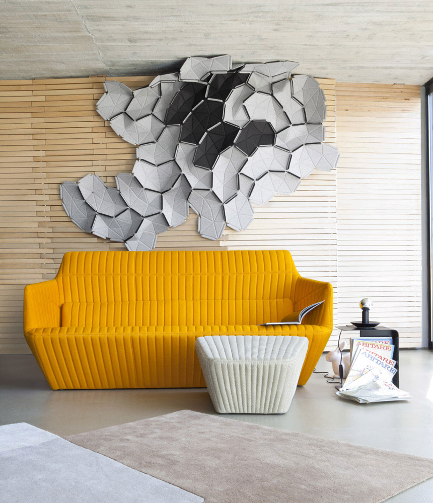 facett sofa by by ligne roset