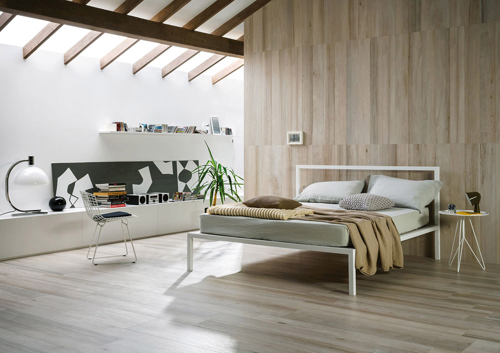Treverkchic is a line of tiles which is inspired by the material qualities of timber (walnut and teak). It references wood veining, as well as having a weather-beaten effect. This piece is full ...