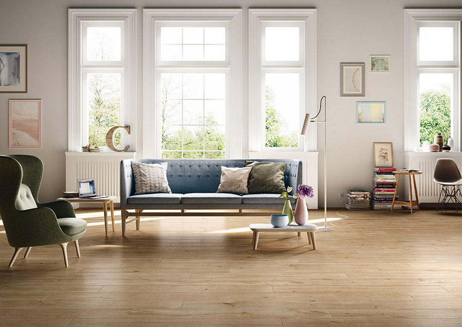 Treverkever is a line of tiles, inspired by the material qualities of timber. It will transform any room into a cosy and refined environment. Ideal for private homes and large public space; it...