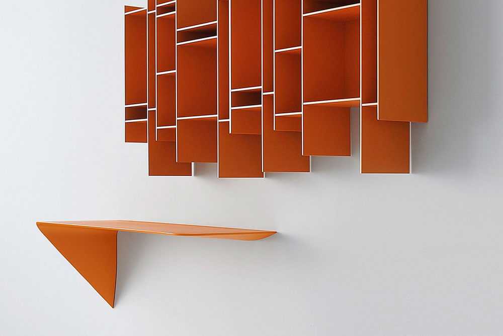 Mamba Light shelf by mdf italia