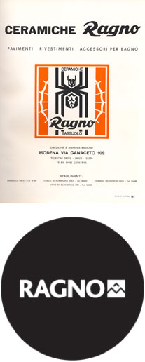 Ragno ceramics since 1949