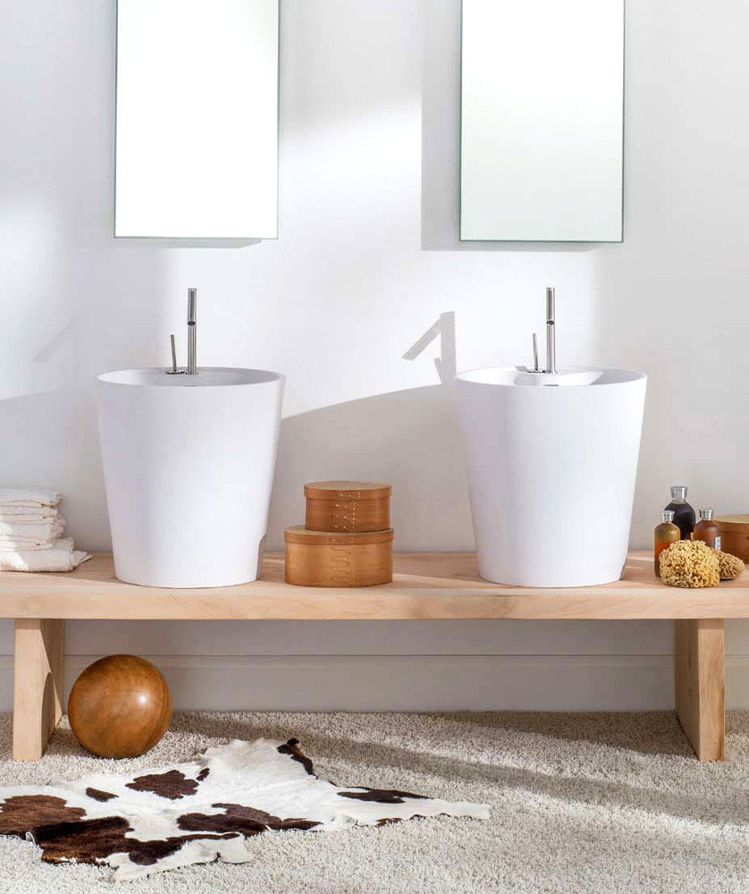 allaltezza washbasin by rapsel